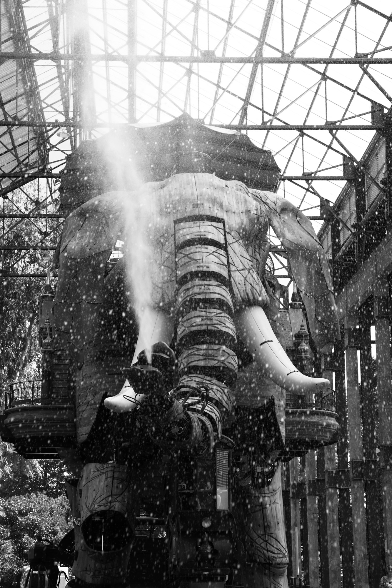 """""""Shower time"""" - Les Machines de l'Île de Nantes. ©Clémence Rougetet"""