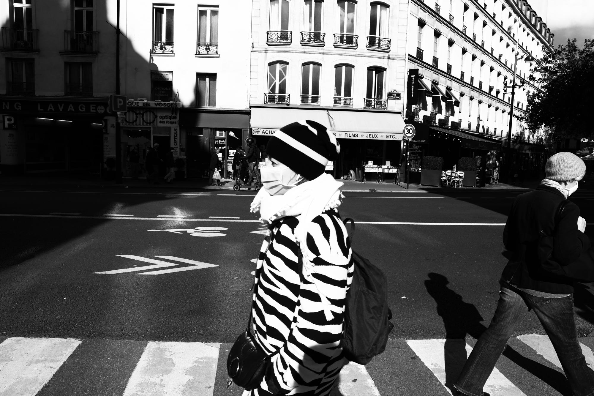 """""""City stripes"""" - Paris (2020). © Clémence Rougetet"""