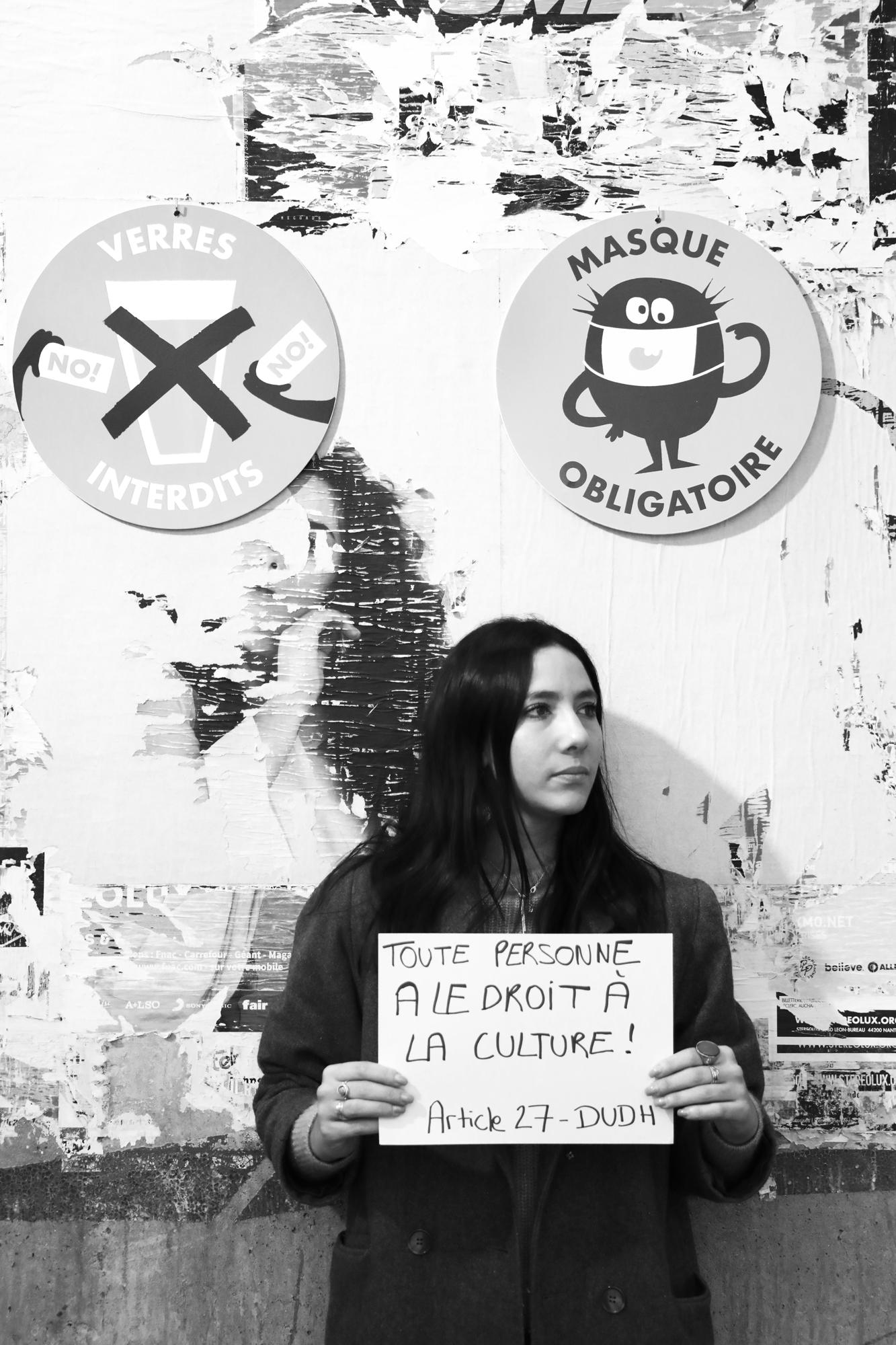 Laura Huet - Chargée de communication indépendante Art'Com et K Production // Coordinatrice à La Cité des Congrès de Nantes