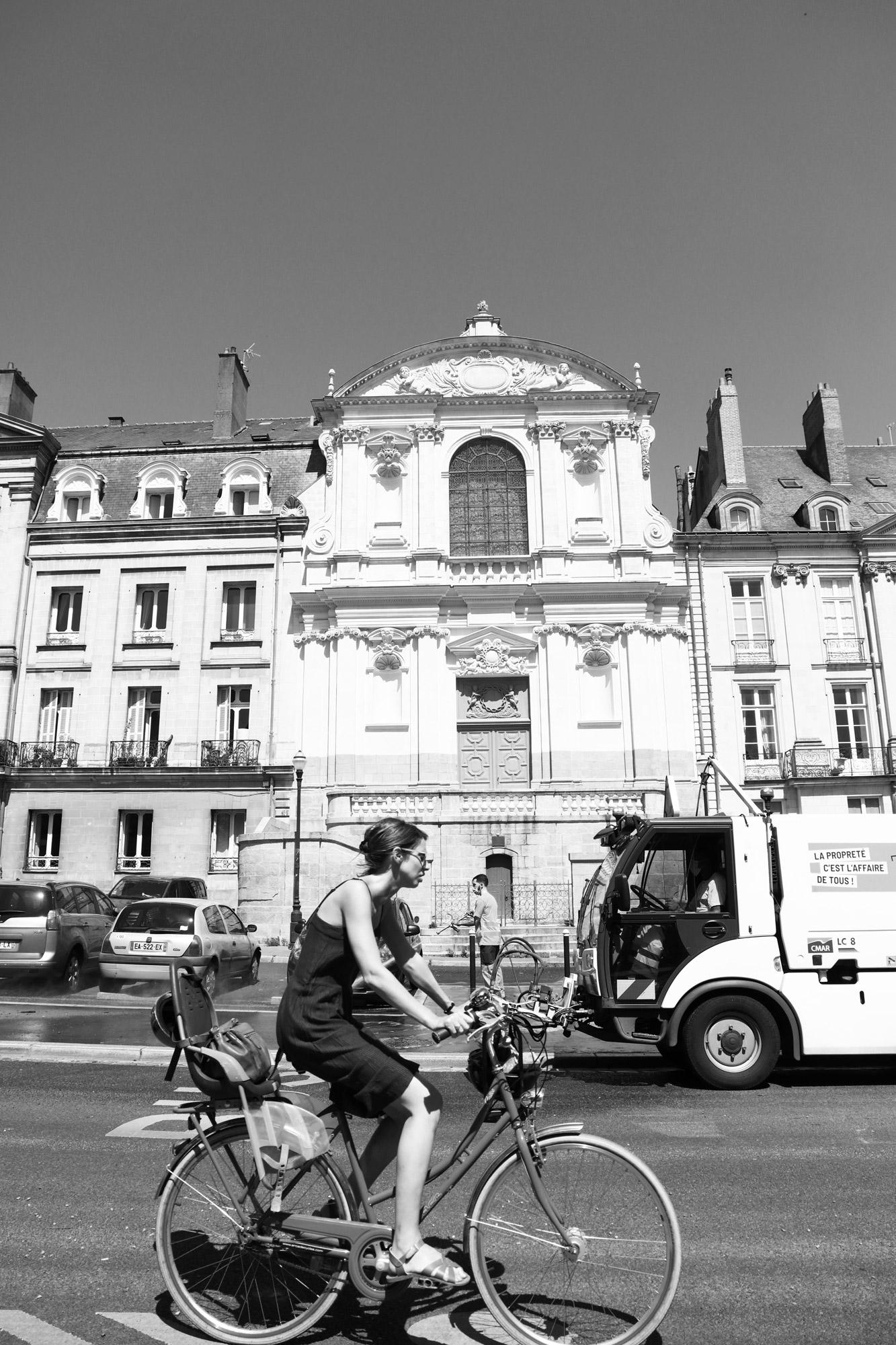 """""""City life"""" - Rue Henri IV, Nantes. ©Clémence Rougetet"""