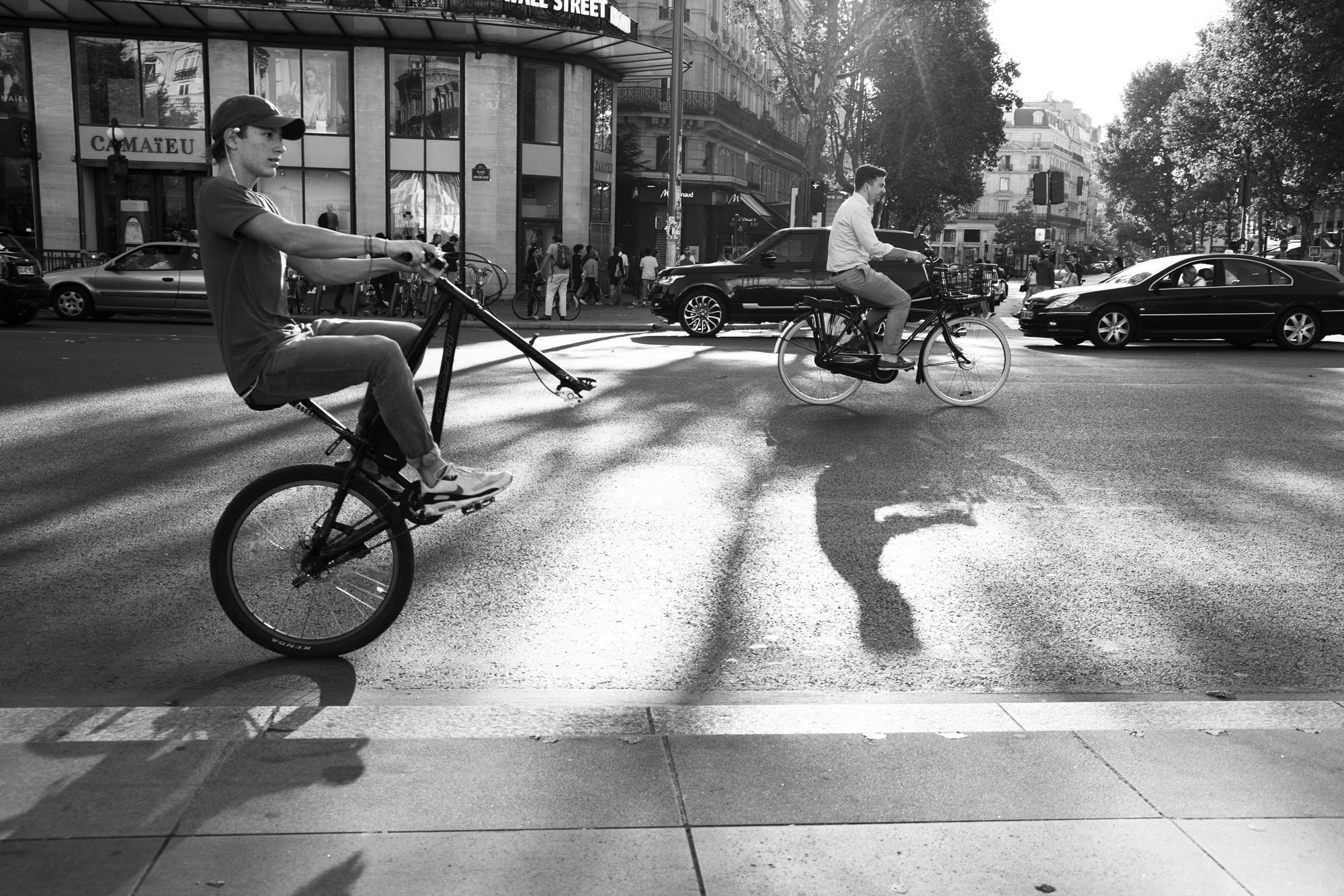 """""""In equilibrium"""" - Place de la République (2017). © Clémence Rougetet"""