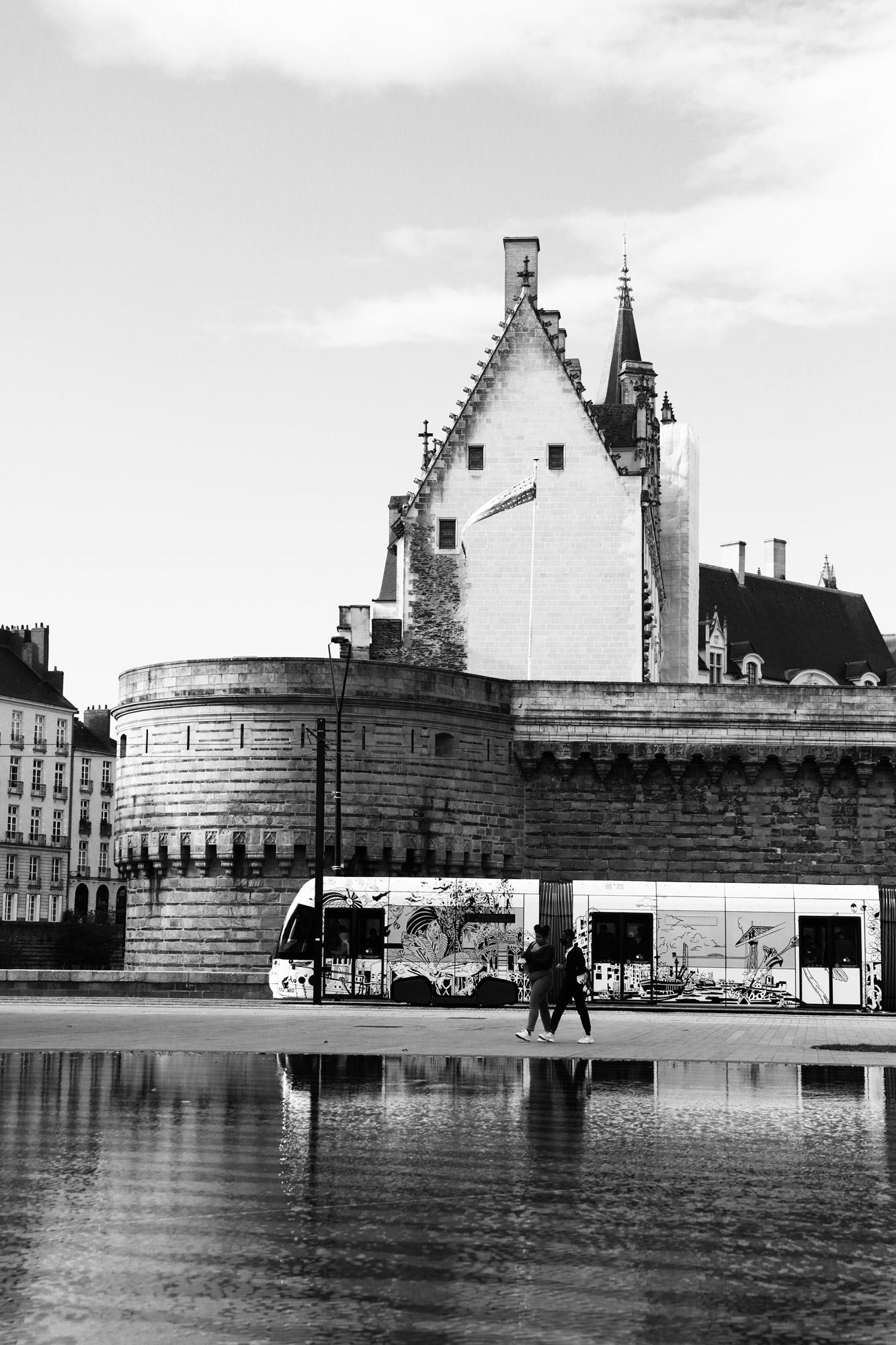 """""""Reflections yours"""" - Le Miroir d'Eau, Nantes. ©Clémence Rougetet"""