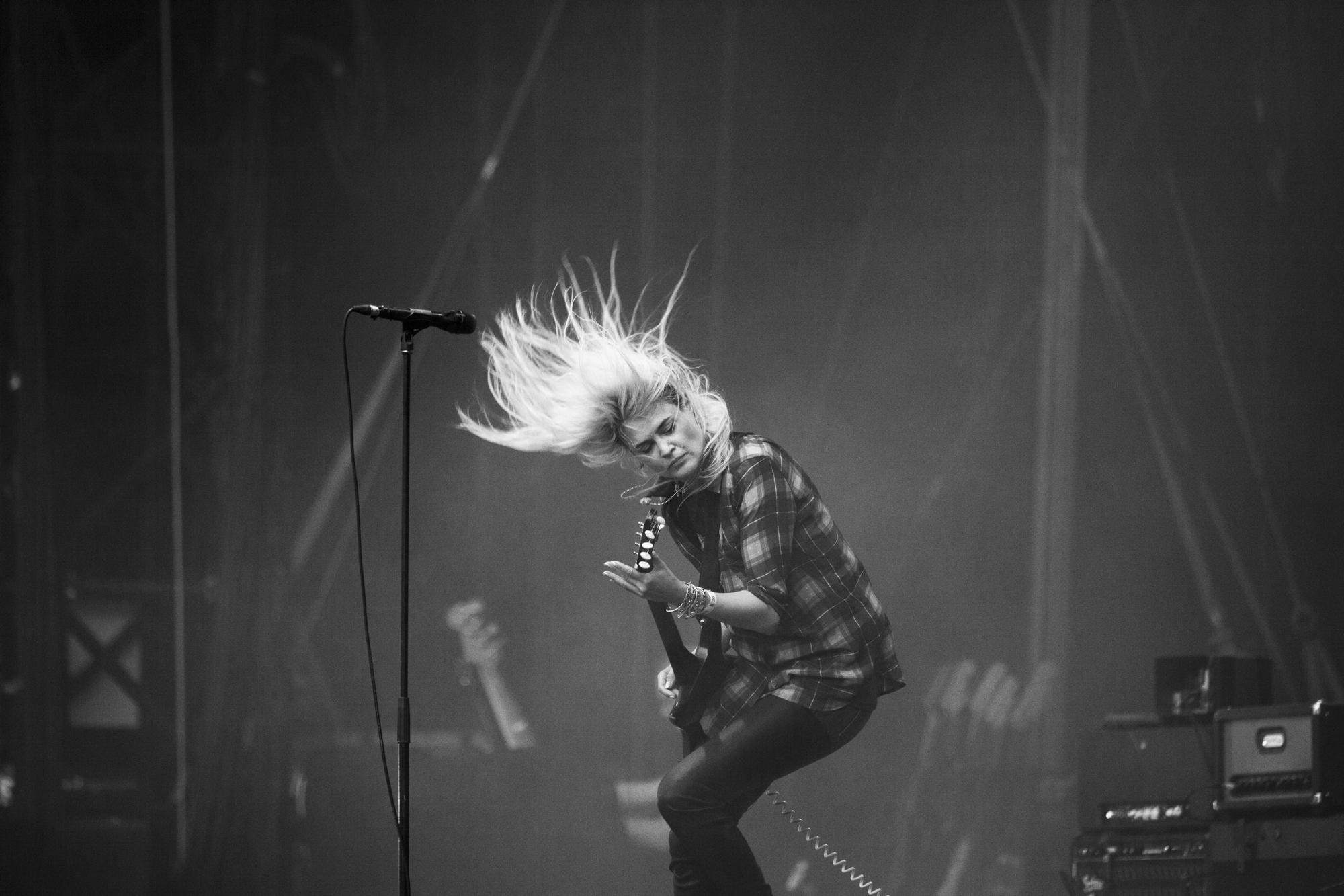 The Kills - Rock en Seine 2017 © Clémence Rougetet