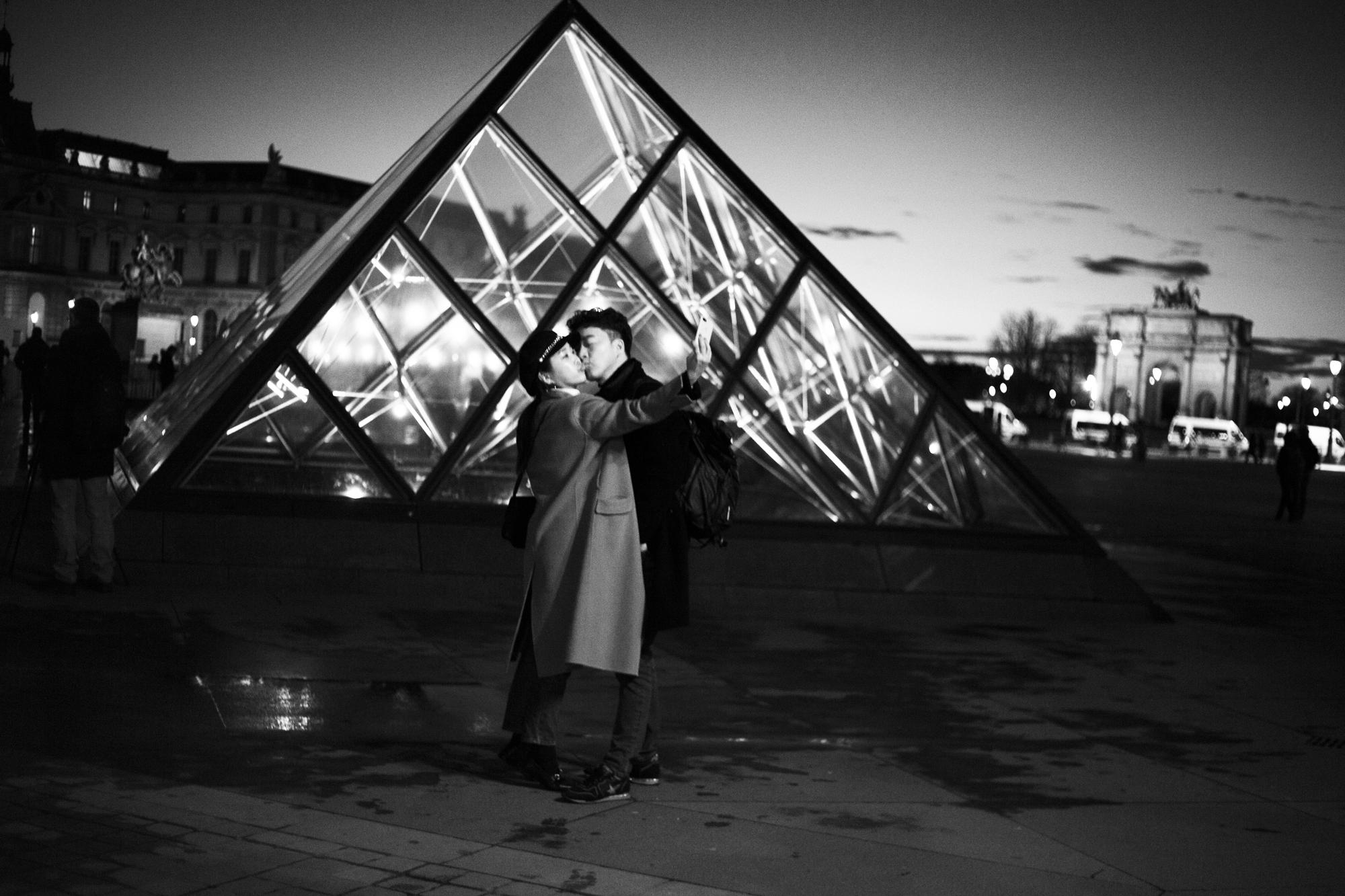 """""""Paris in love"""" - Musée du Louvre, Paris (2018). © Clémence Rougetet"""