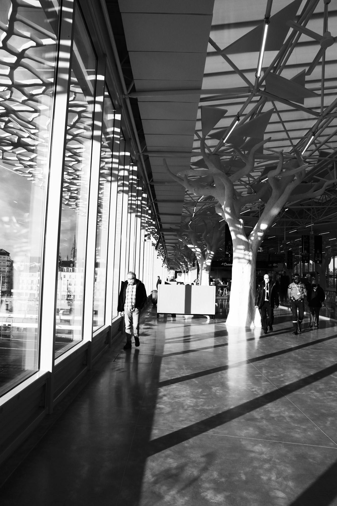 """""""Station perspective"""" - Gare de Nantes. ©Clémence Rougetet"""