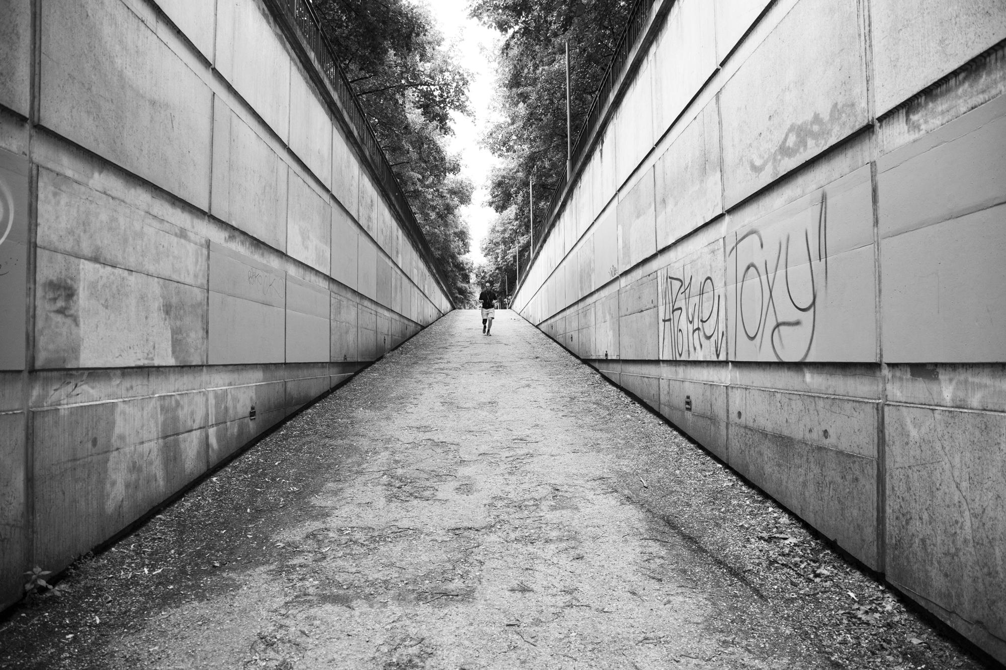 """""""Slow ride"""" - Parc de Bercy, Paris (2019). © Clémence Rougetet"""