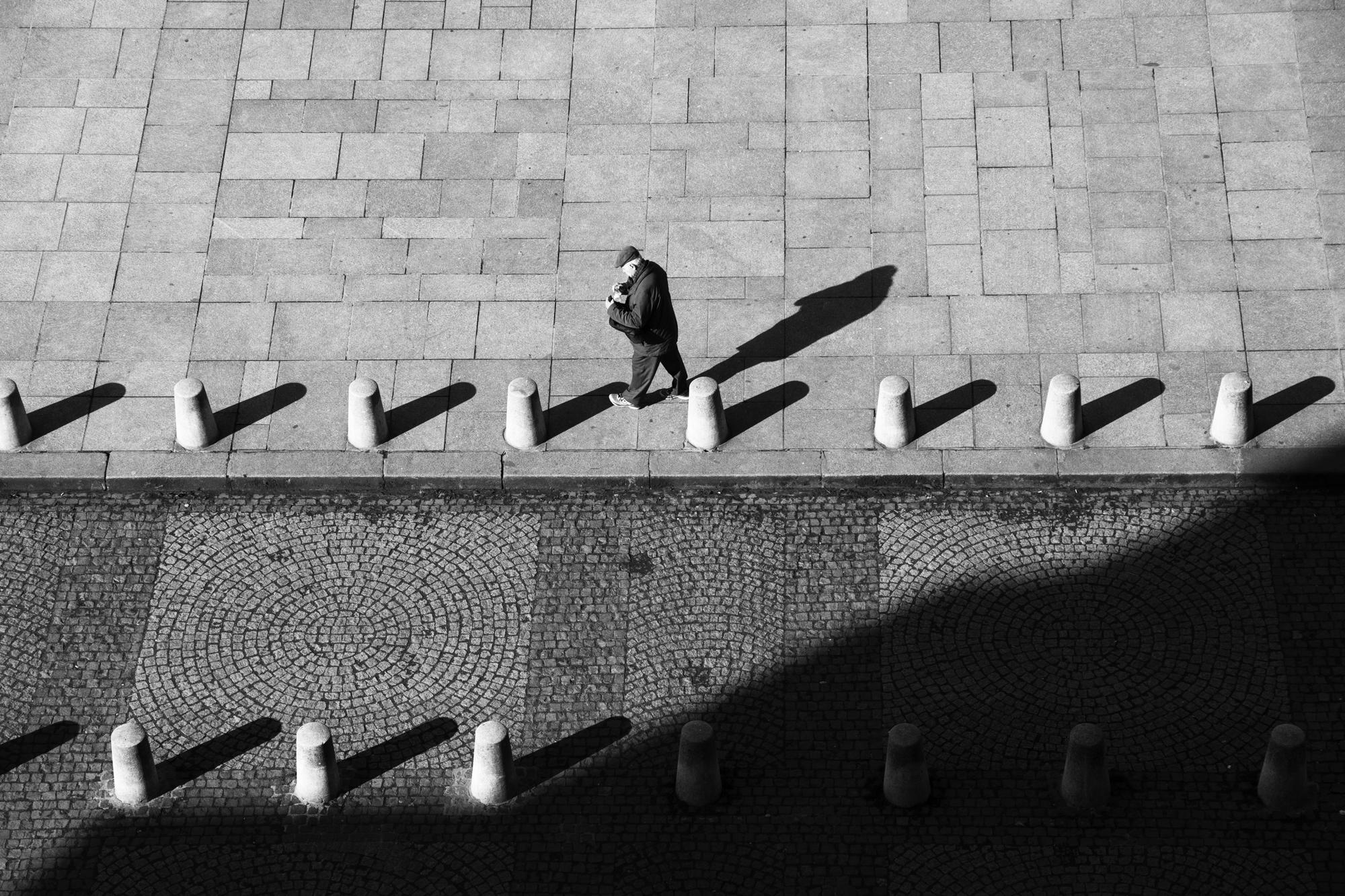 """""""Light side"""" - Place Saint-Sulpice, Paris (2018). © Clémence Rougetet"""
