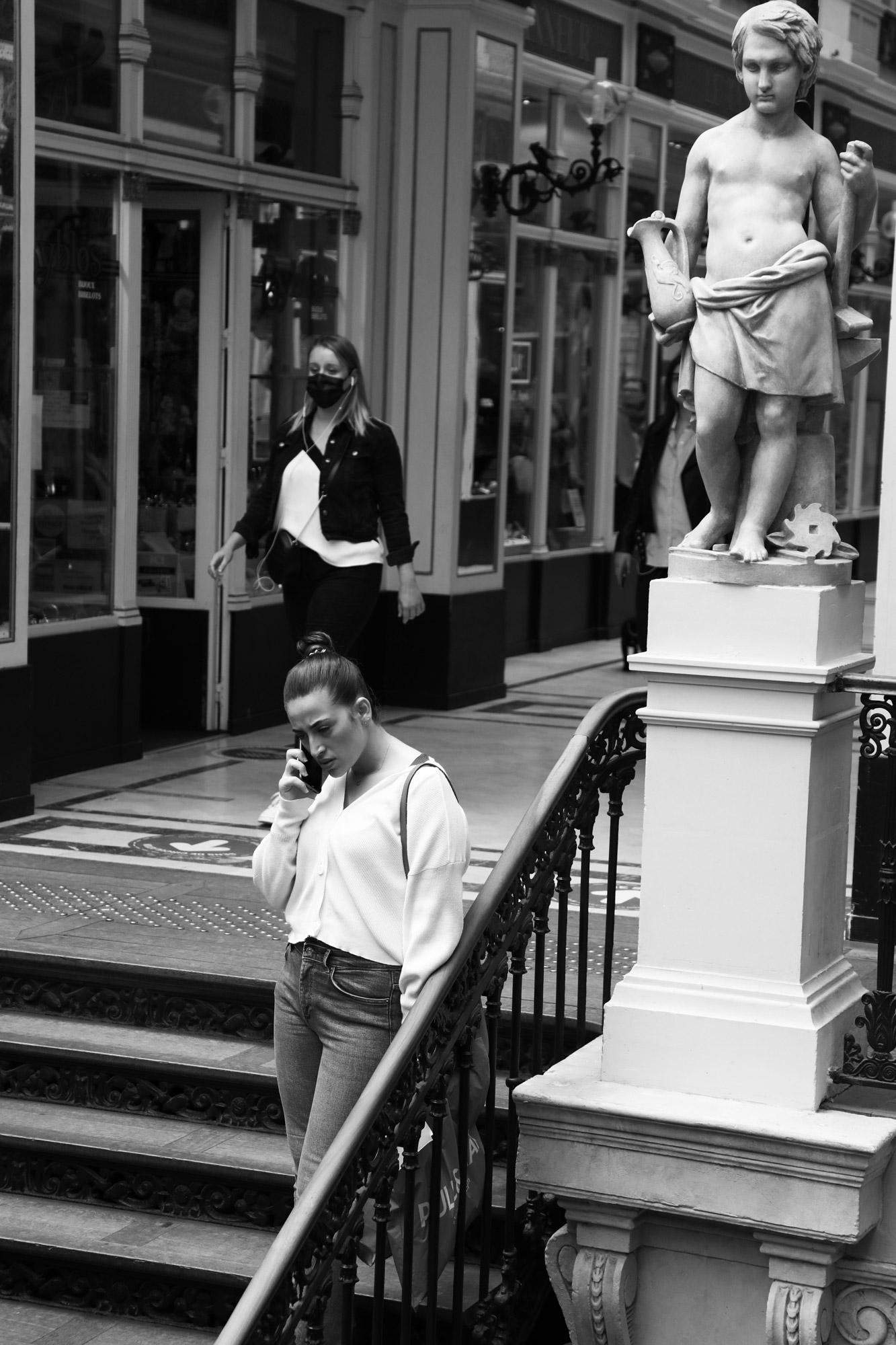 """Hello"" - Passage Pommeraye, Nantes. ©Clémence Rougetet"