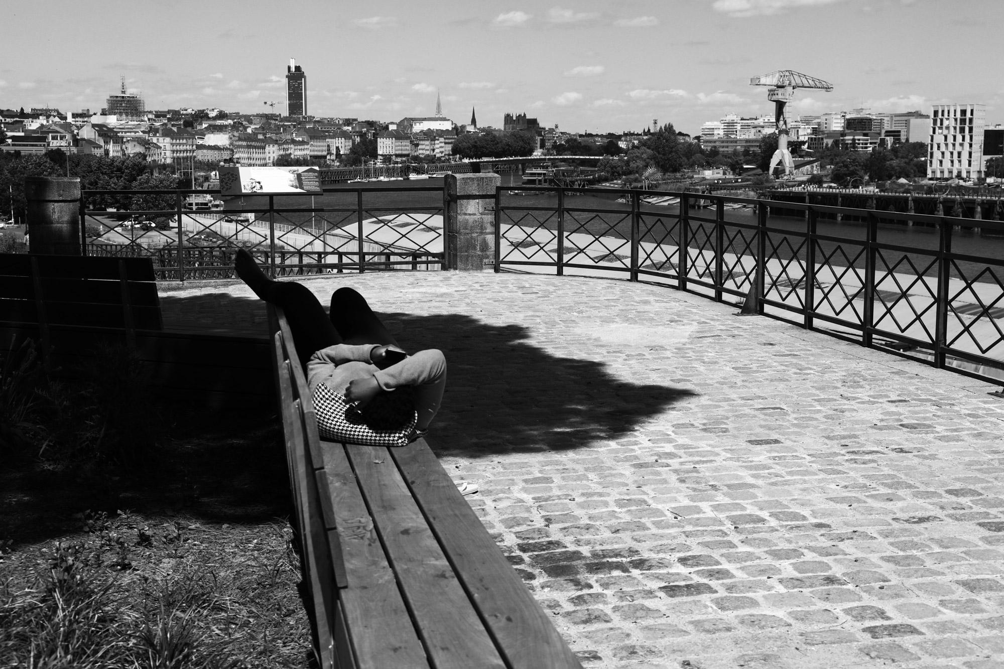 """""""The main view"""" - Butte Sainte-Anne, Nantes. ©Clémence Rougetet"""