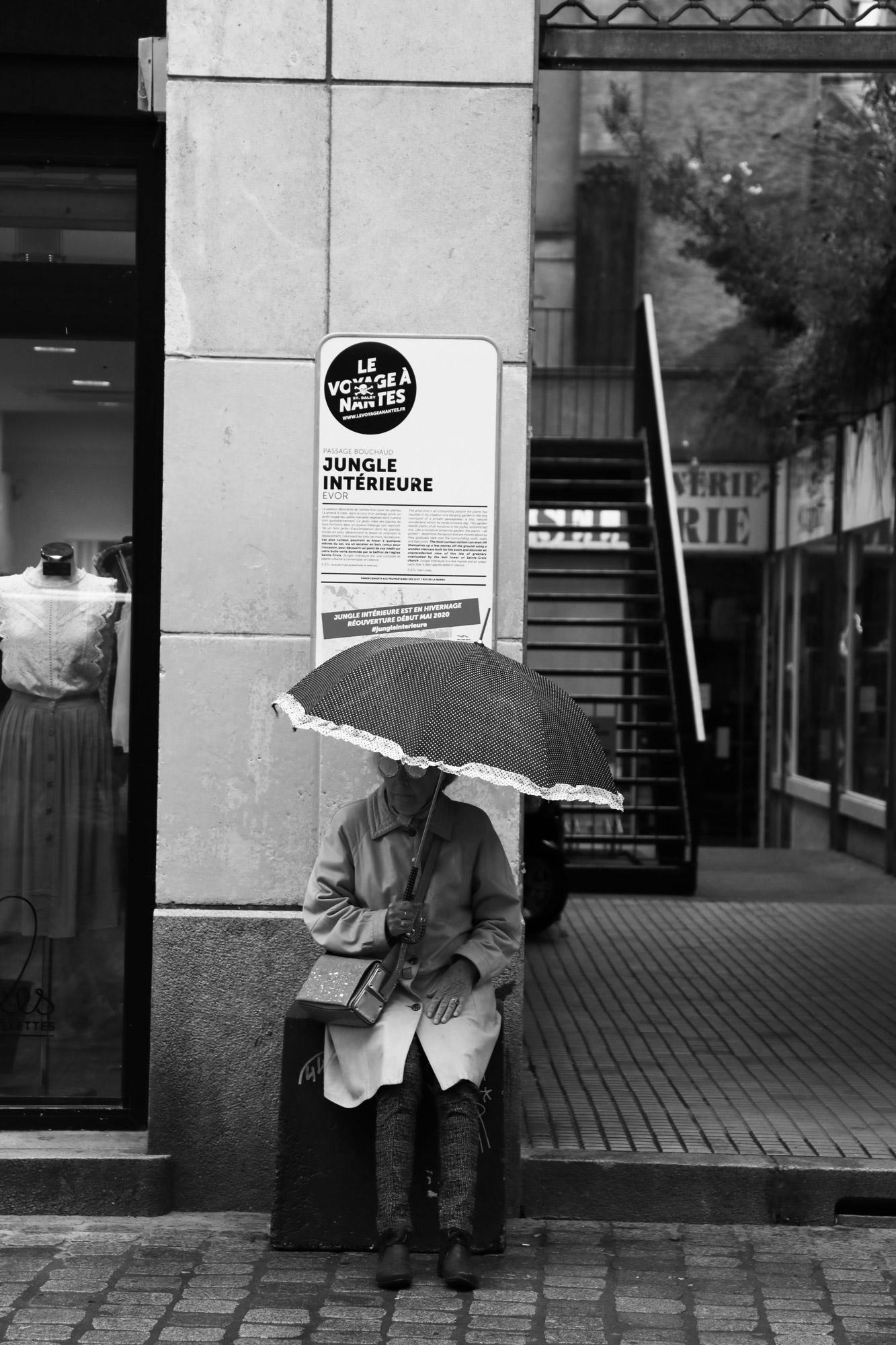"""""""Jungle intérieure"""" - Rue de la Marne, Nantes. ©Clémence Rougetet"""