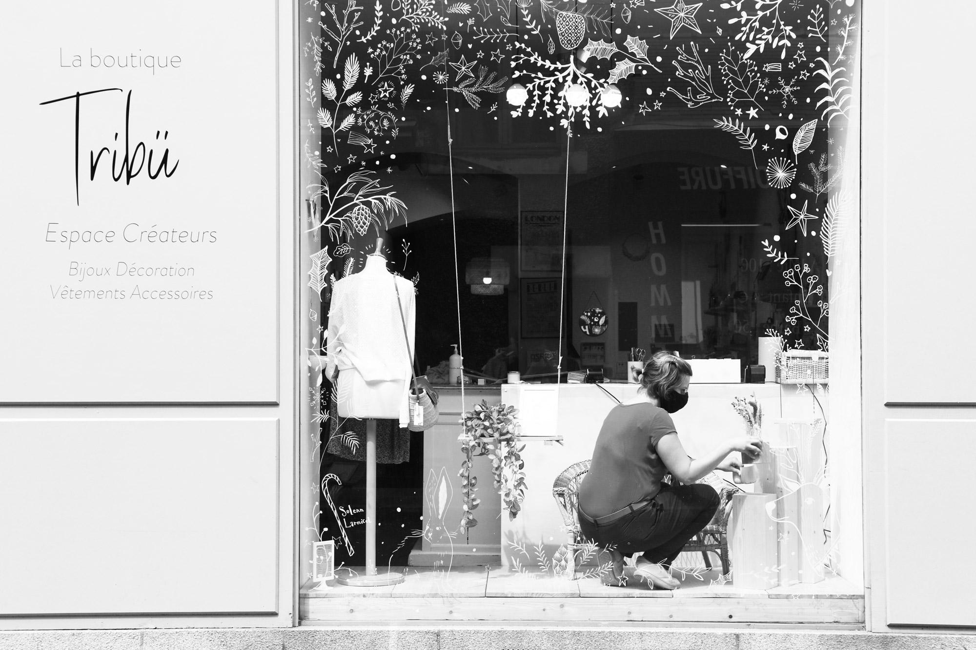 """""""Tribü"""" - Rue de l'Hôtel de Ville, Nantes. ©Clémence Rougetet"""