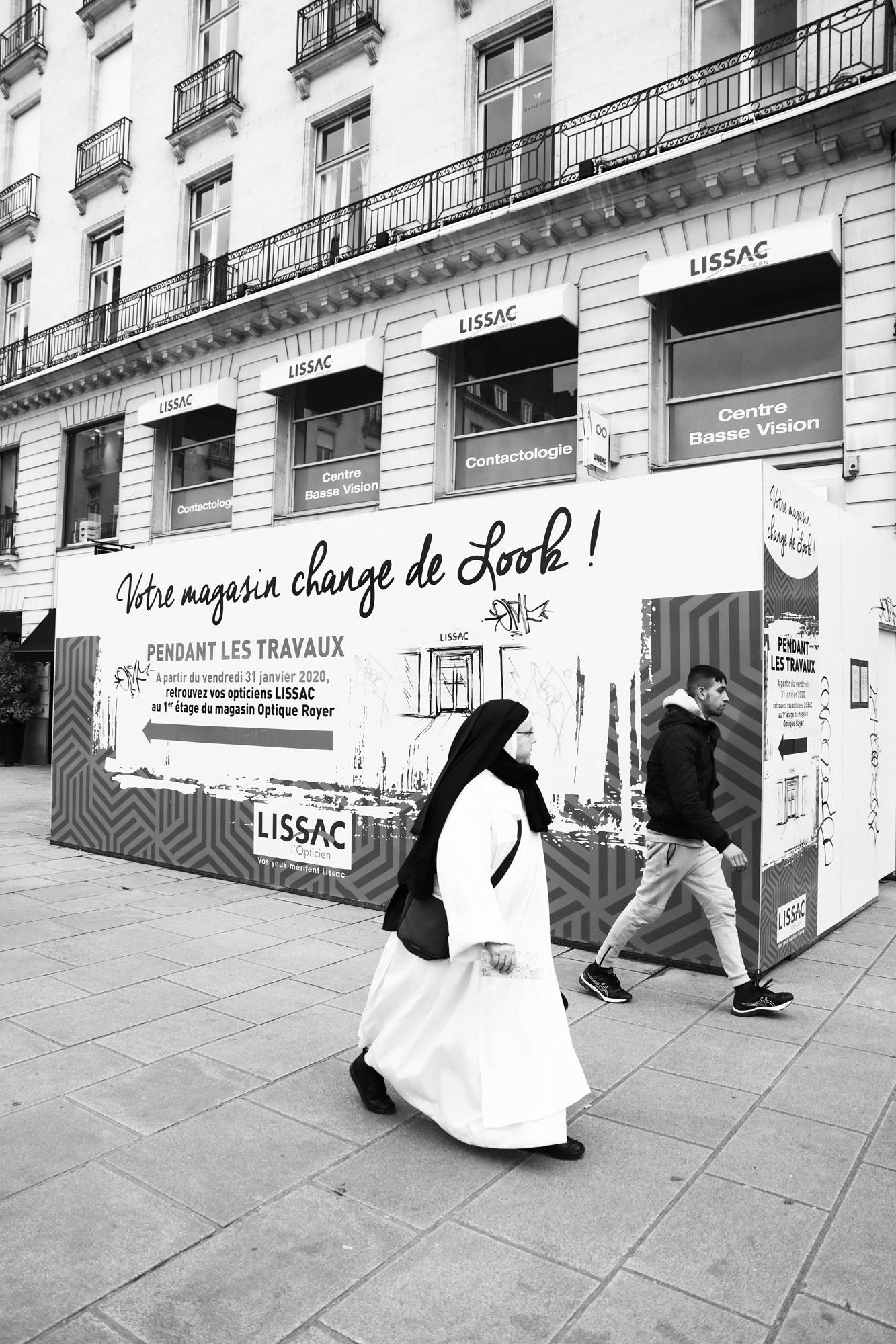 """Camouflage"" - Place Royale, Nantes. ©Clémence Rougetet"