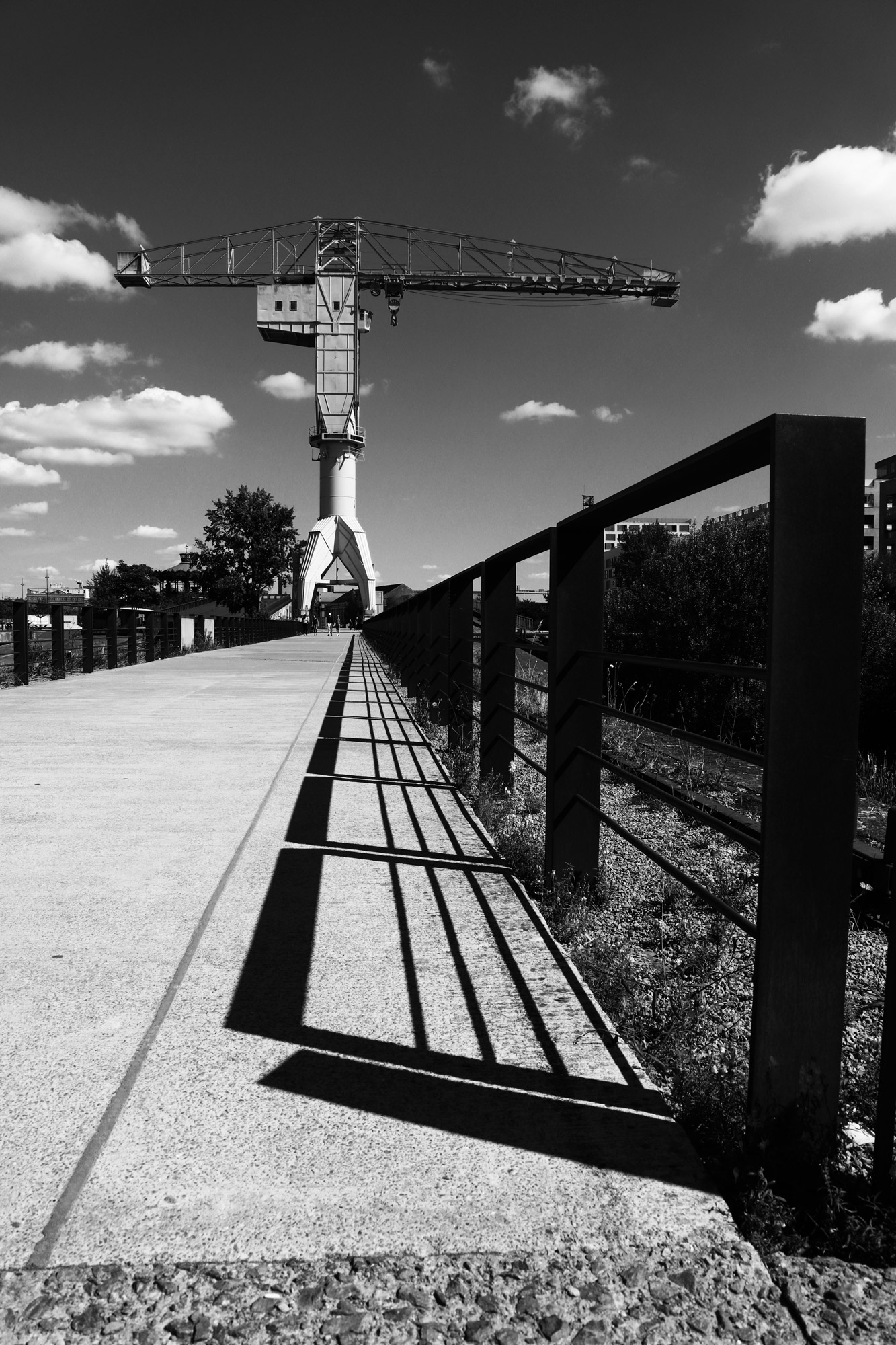 """""""Perspective of lines"""" - Île de Nantes. ©Clémence Rougetet"""