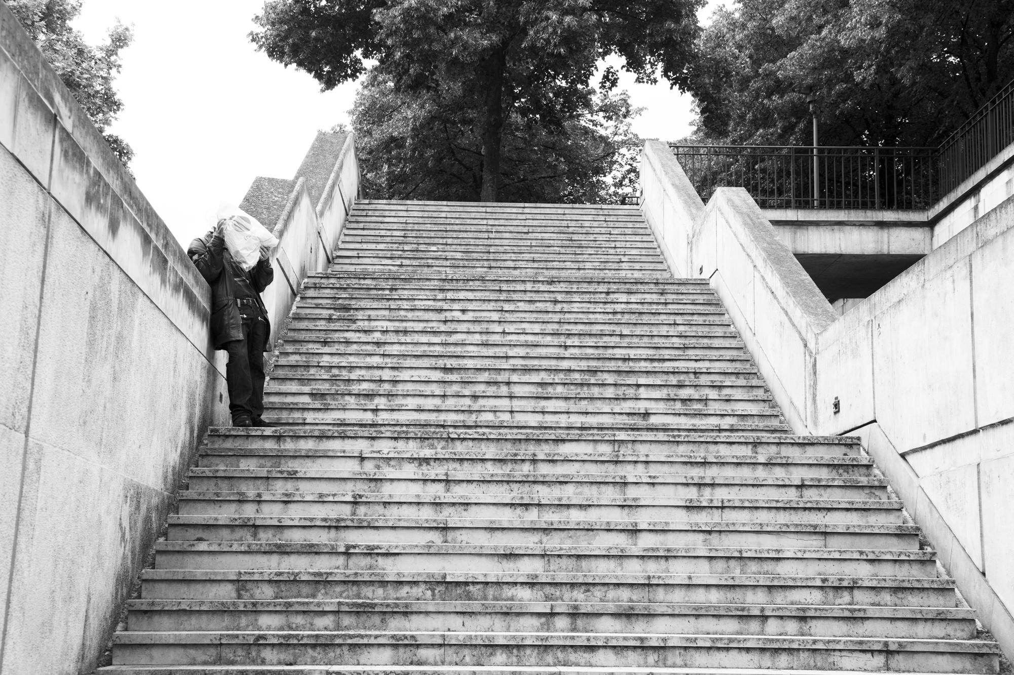 """Being under the radar"" - Parc de Bercy, Paris (2019). © Clémence Rougetet"