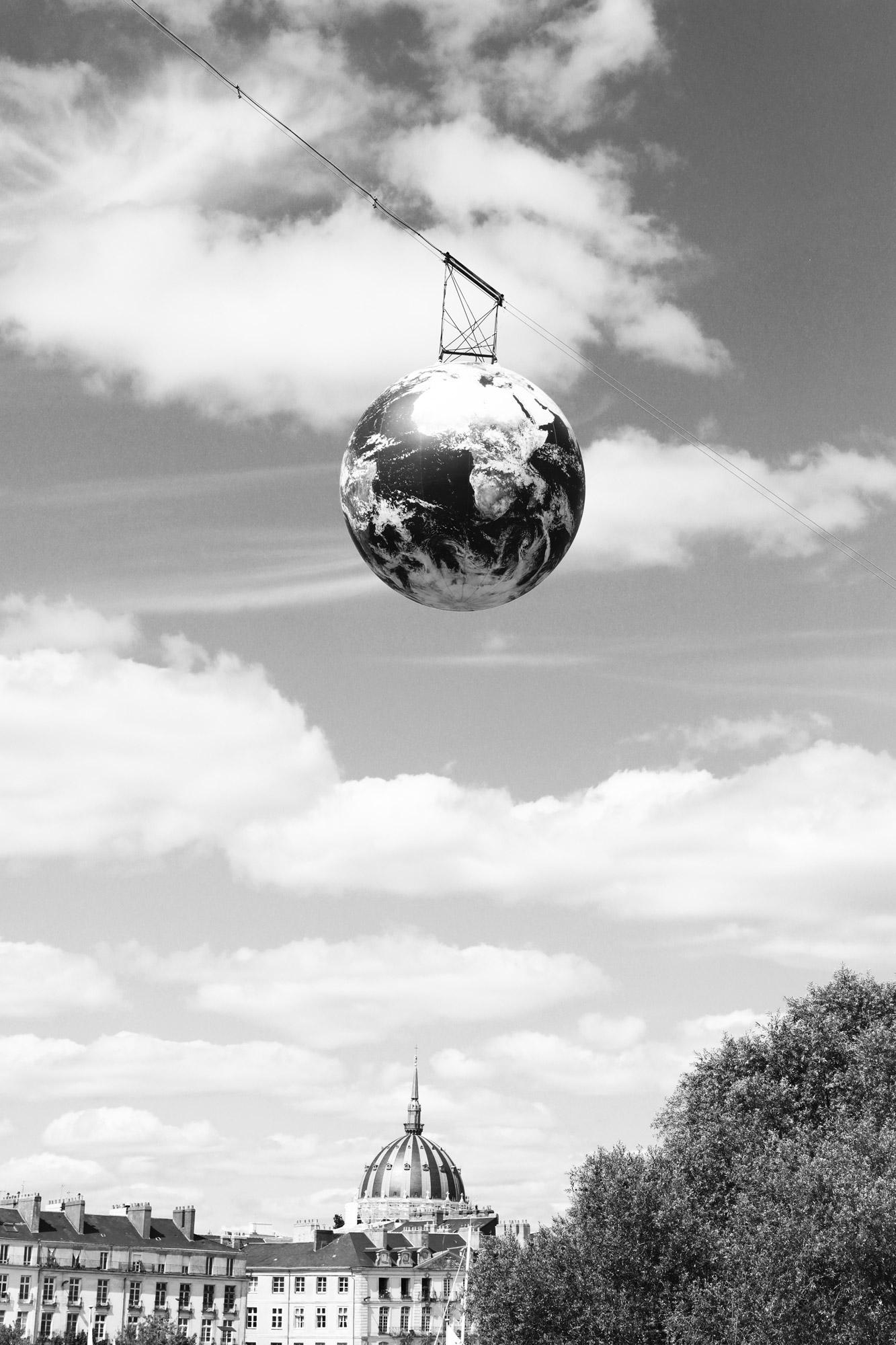 """""""Urban world"""" - Île de Nantes. ©Clémence Rougetet"""