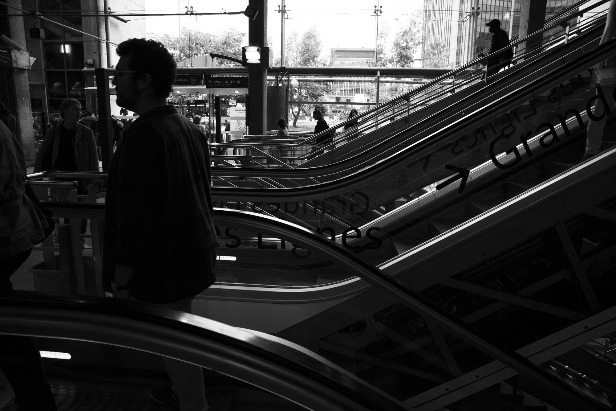 """""""On start"""" - Gare Montparnasse, Paris (2017). © Clémence Rougetet"""