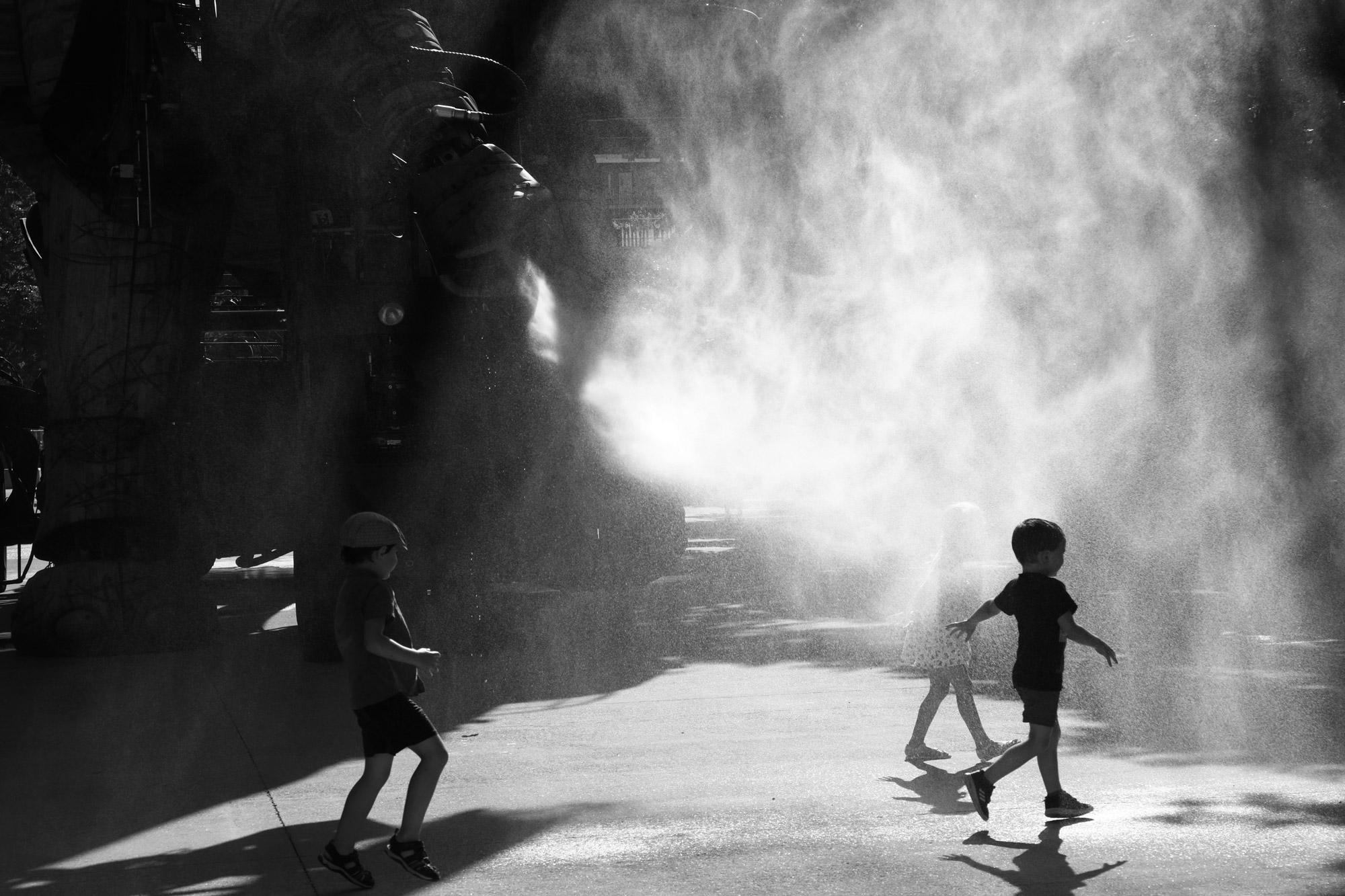 """""""Water game"""" - Les Machines de l'Île de Nantes. ©Clémence Rougetet"""