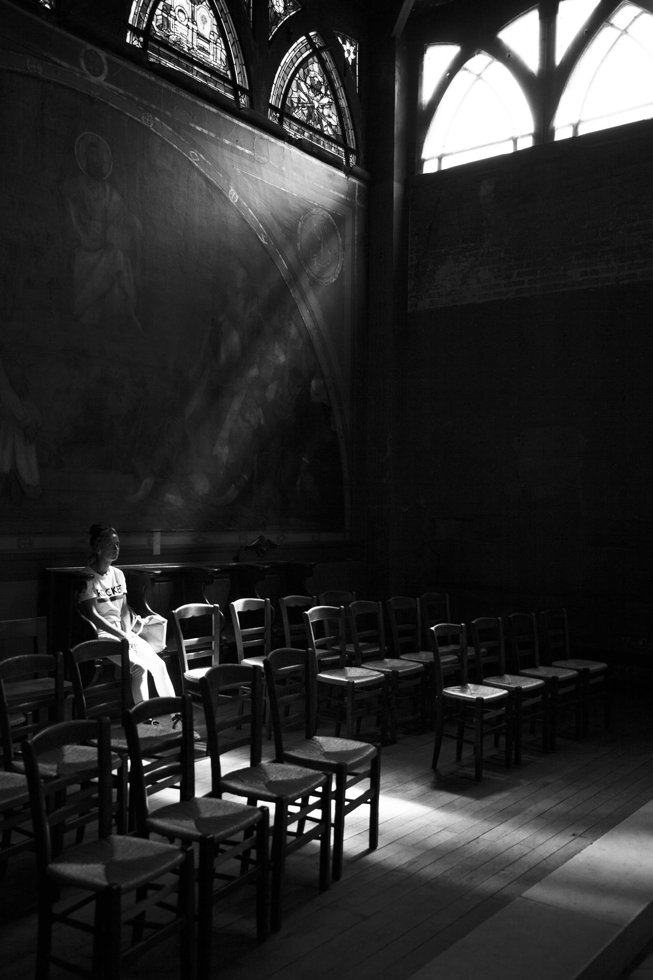 """""""House of light"""" - Paroisse St-Jean de Montmartre, Paris (2018). © Clémence Rougetet"""