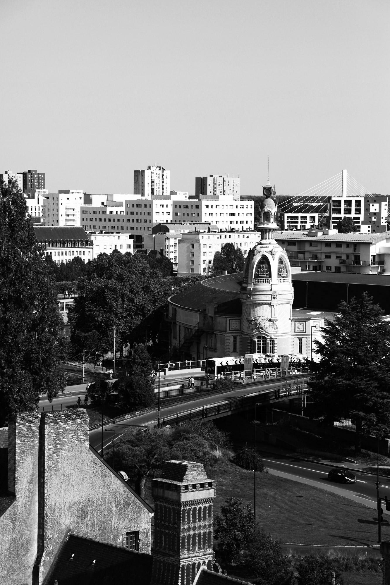 """""""Level up"""" - Nantes depuis le rooftop du Château des Ducs de Bretagne. ©Clémence Rougetet"""