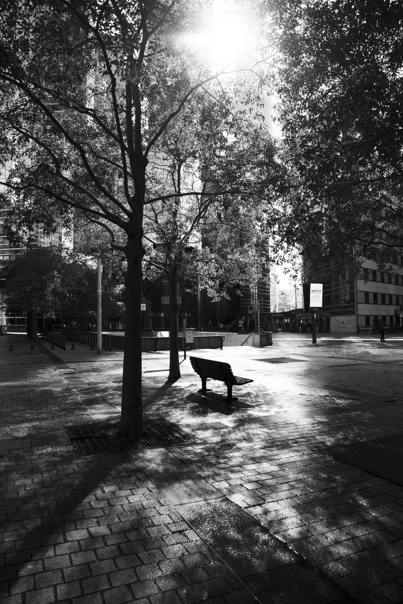 """""""Urban gardens"""" - La Défense, Puteaux (2017). © Clémence Rougetet"""