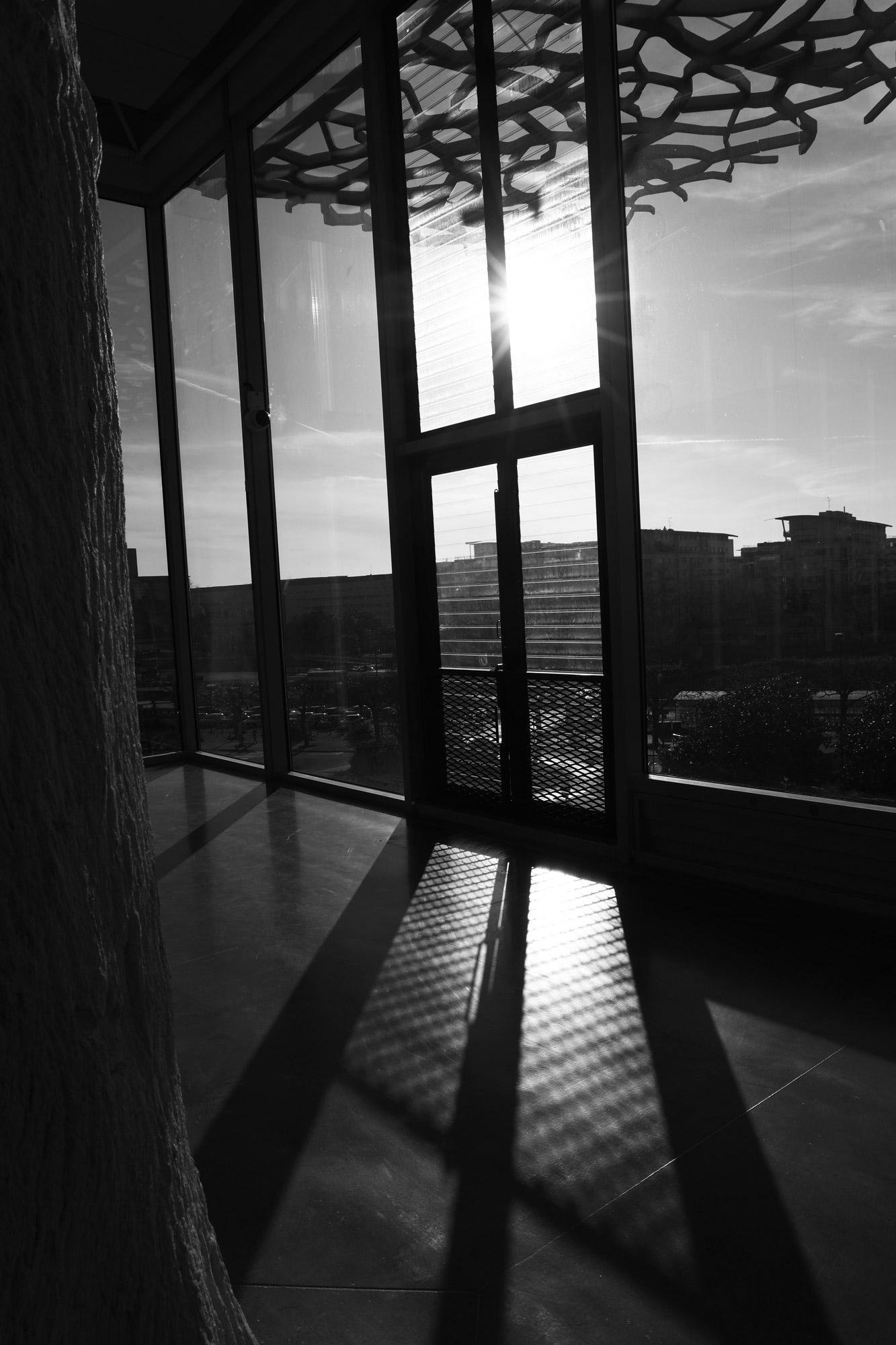 """Sun door"" - Gare de Nantes. ©Clémence Rougetet"