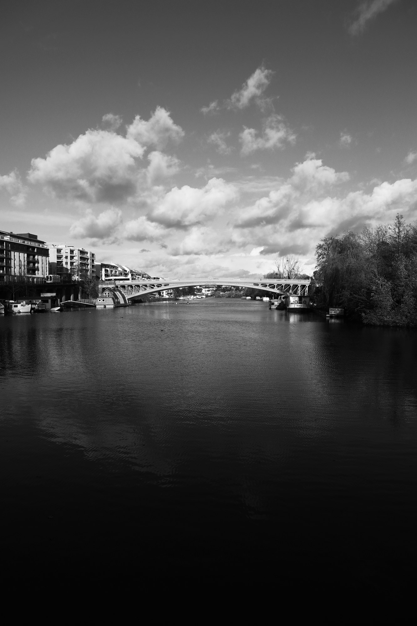 """""""Mirroscape"""" Pont Général de la Motte Rouge, Nantes. ©Clémence Rougetet"""