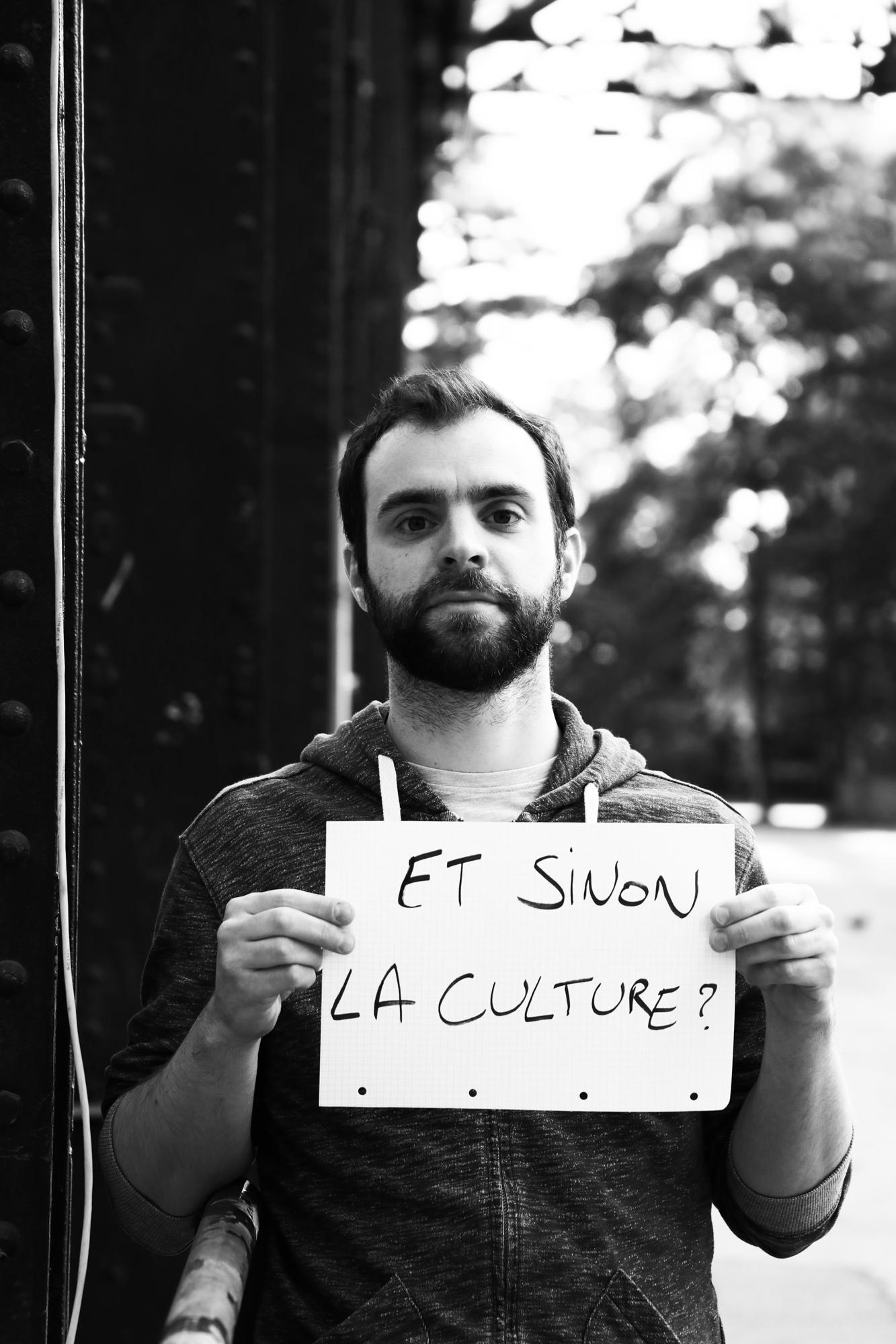 Gabriel Massei - Chargé de communication du Festival La Nuit de l'Erdre. ©Clémence Rougetet