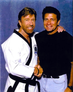 Chuck Norris mit Keith Vitali