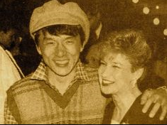 Jackie Chan and Cynthia Rothrock