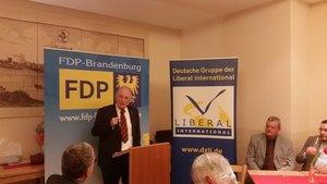 Neujahrsempfang am 11.02.2015 in Strausberg gemeinsam der Deutschen Gruppe Liberal International