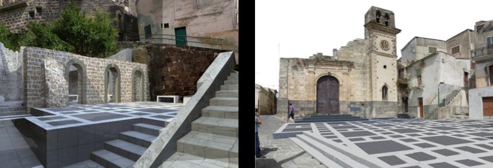 """Riqualificazione urbana """"Colle del Castello"""" a Vizzini"""