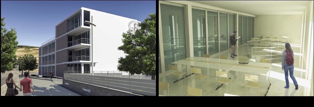 Edificio 5 della Facoltà di Ingegneria e Architettura - Enna KORE