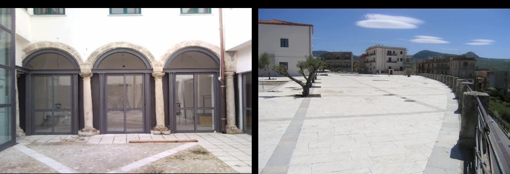 Riqualificazione urbana Piazza San Giovanni ed aree adiacenti a Bivona