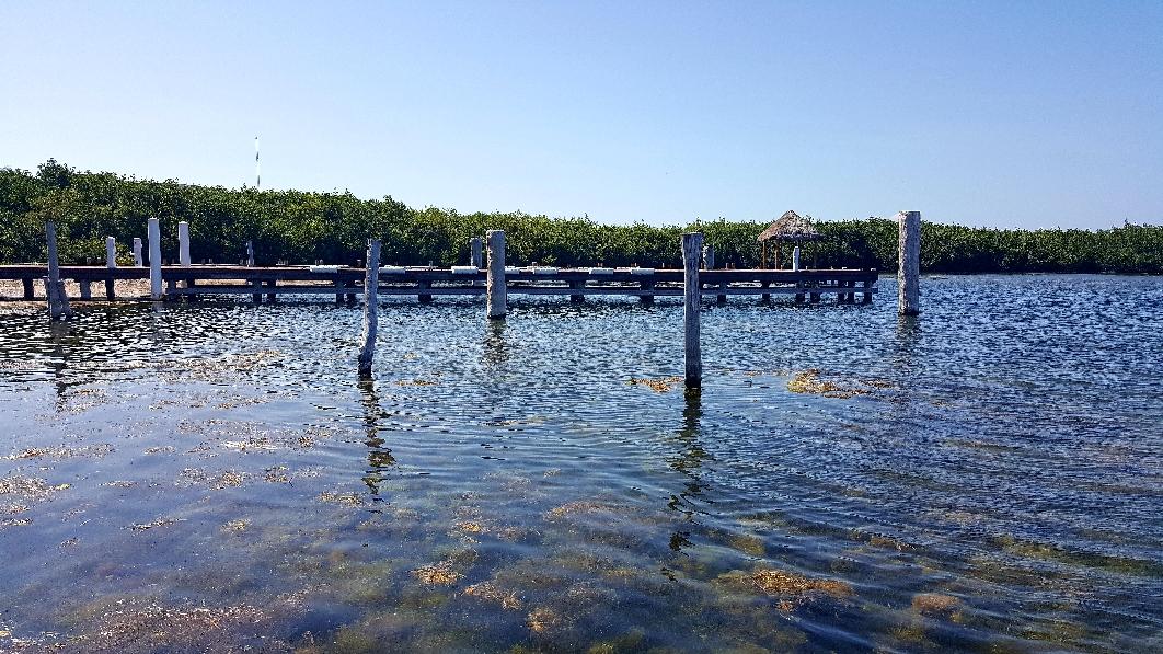 Auch die Lagune ist sehr sehenswert und fotogen