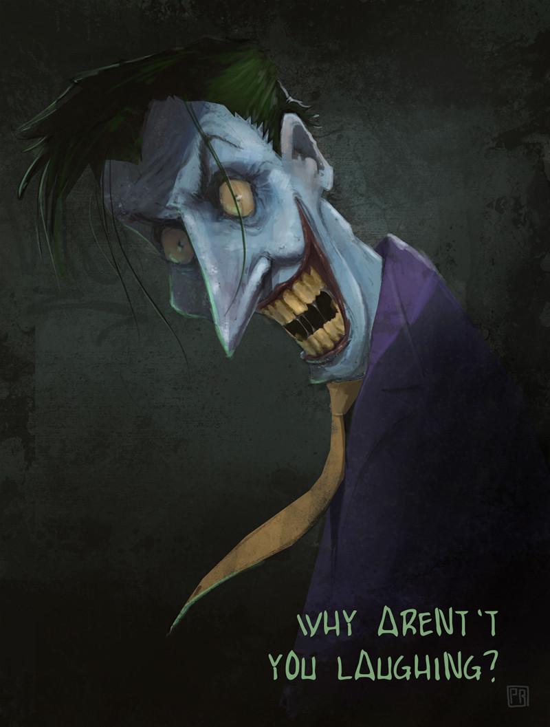 The Joker - Peter Bartels - Illustration - Concept Art