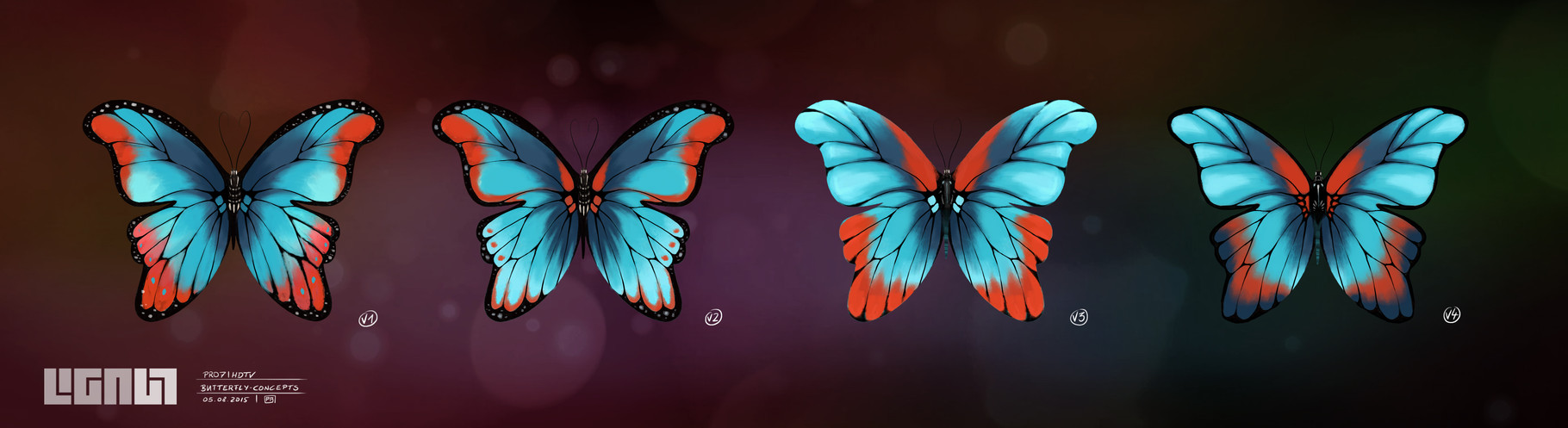 Pro7 HDTV - Butterfly - concept - Peter Bartels