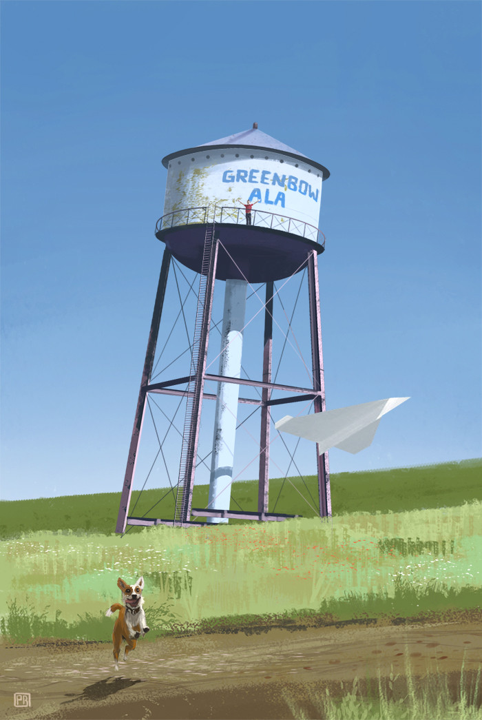 Watertank - Peter Bartels- Illustration - Concept Art