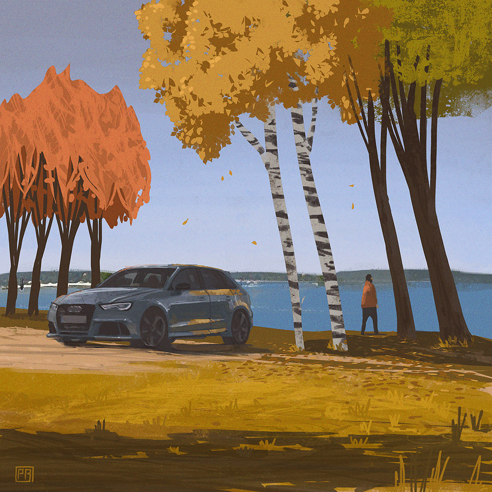 Autumn - Peter Bartels- Illustration - Concept Art