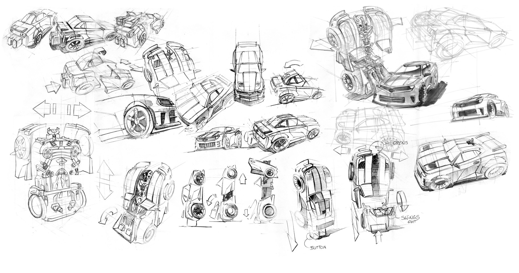 Sketchbook 06 - Peter Bartels - Illustration - Concept Art