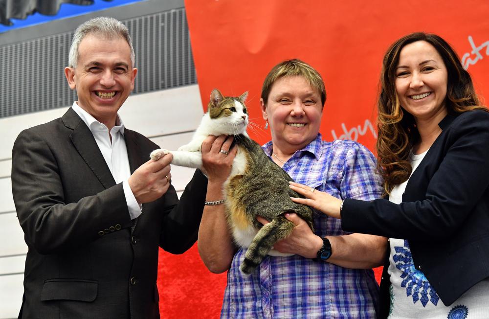 Cat World- Weltausstellung mit Oberbürgermeister Peter Feldmann März 2017