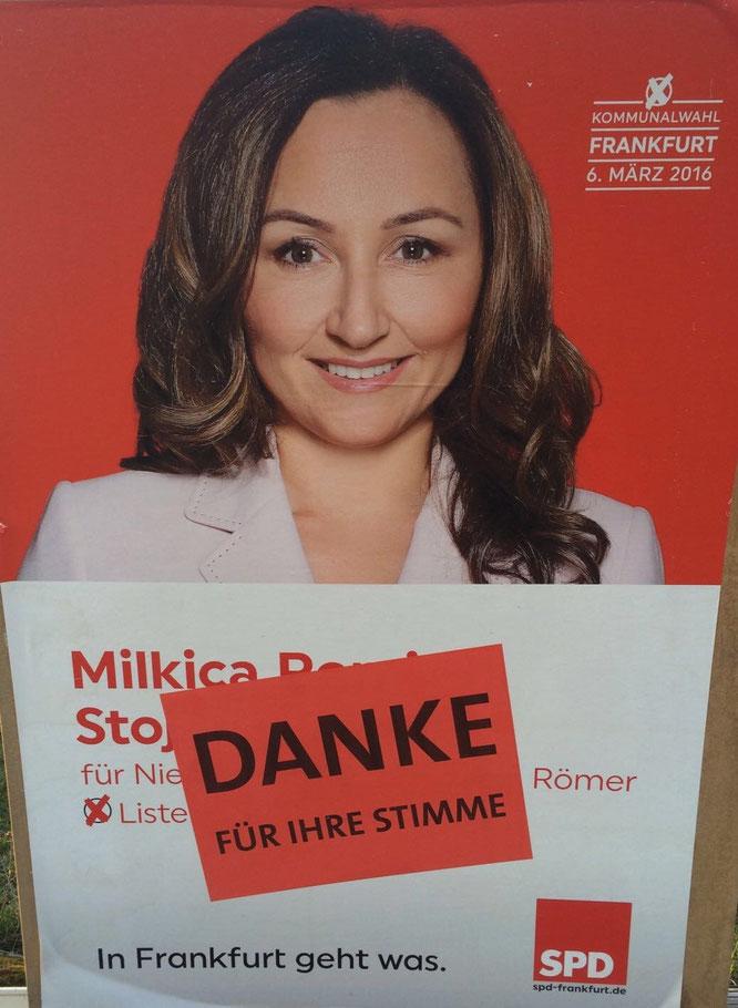 Milli Romic Plakat - Danke! Geschafft