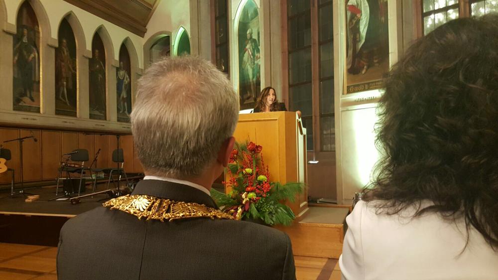Laudatio zur Verleihung des Integrationspreises an die IGS Eschenheim 2016 im Kaisersaal