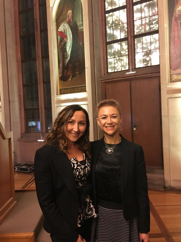 Verleihung des Integrationspreises mit Stadträtin Albina Nazarenus Vetter
