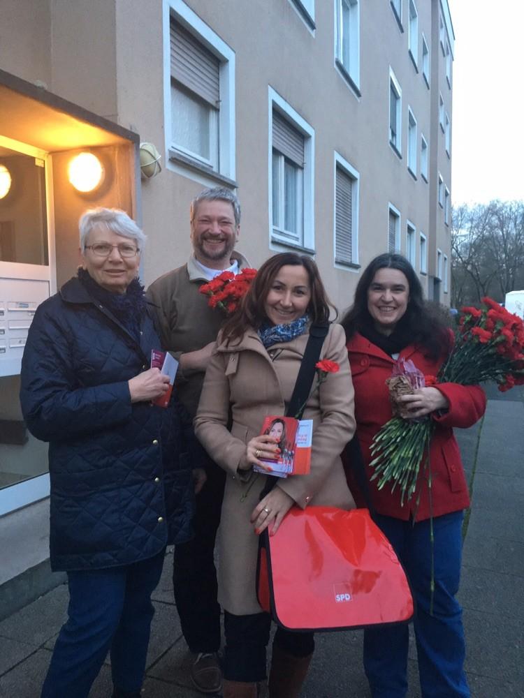 Milkica Romic Hausbesuche Wahlkampf - Kommunalwahl 2016