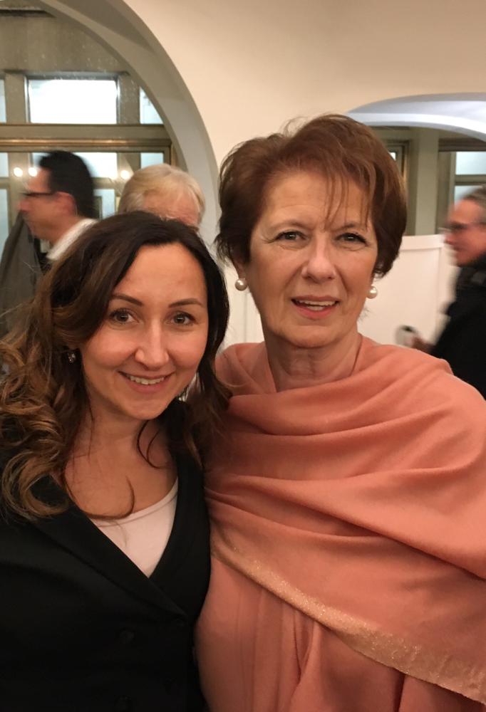 Neujahrsempfang im Römer mit Generalkonsulin der Republik Serbien und Doyenne der Hessischen Diplomatischen Corps Frau Alexandra Dordevic