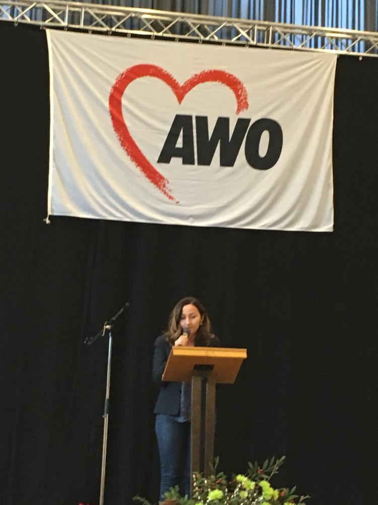 Grußwort zur Jahresabschlussfeier der AWO in Nied
