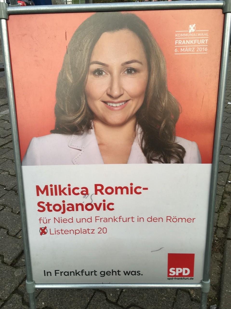 Milkica Romic Plakat