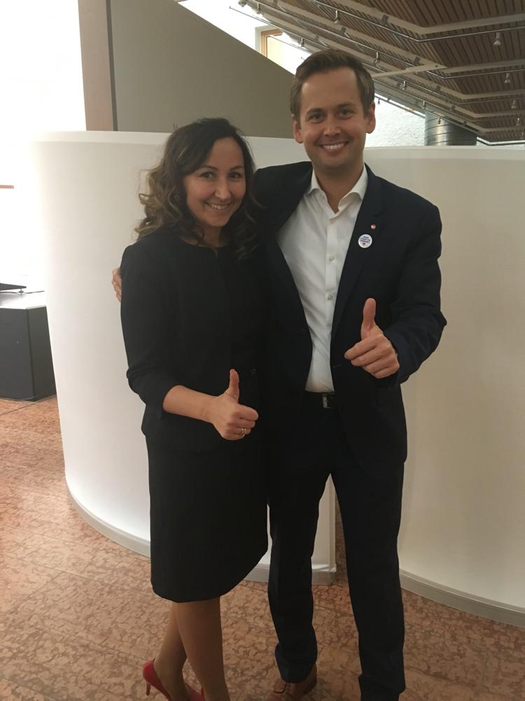 Fürrede für Dr. Oliver Strank zur Wahl als Bundestagskandidat- 2016 mit Dr. Olli Strank
