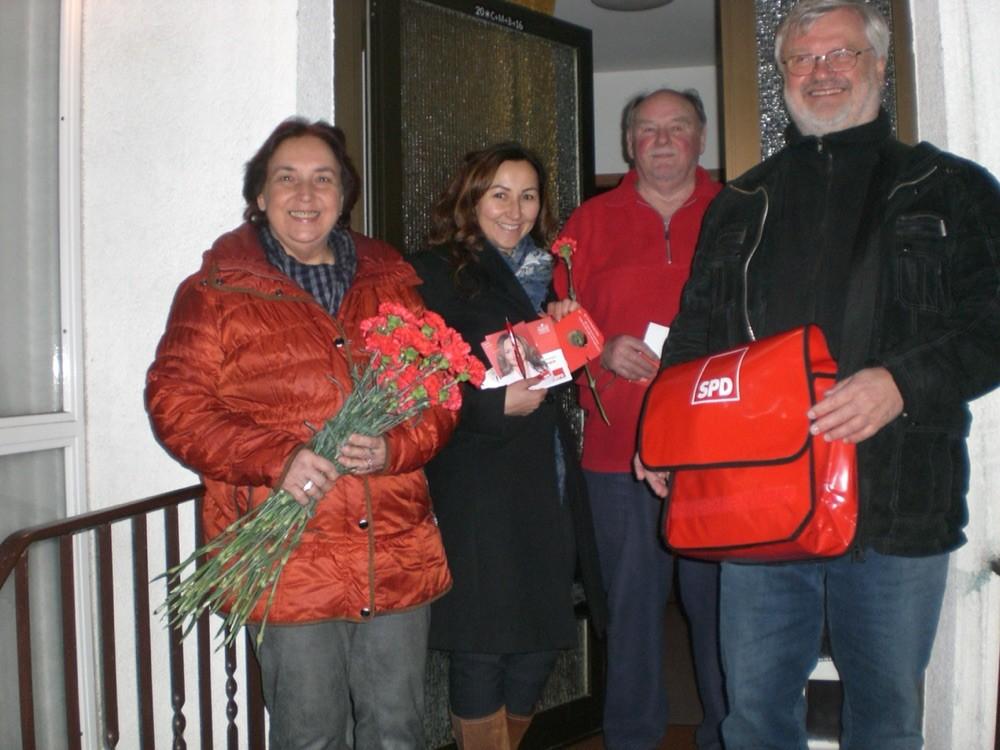 Hausbesuche- Kommunalwahl 2016