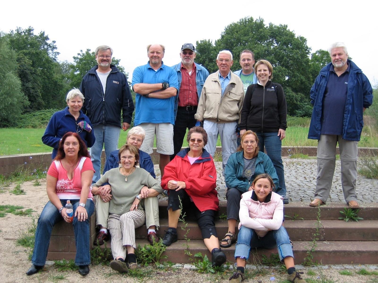 Alljährliche Fahrrad-Tour der SPD-Nied mit Freunden